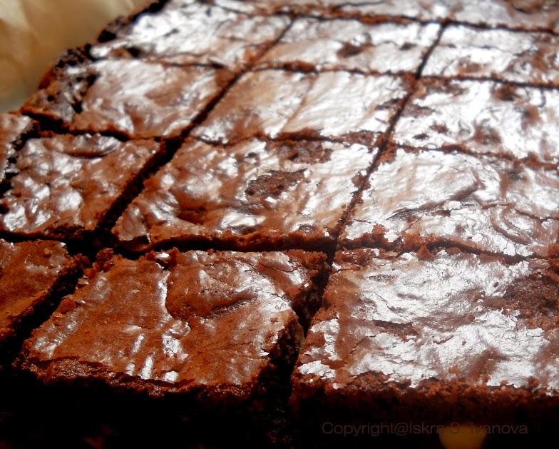 Brownies con nocciole
