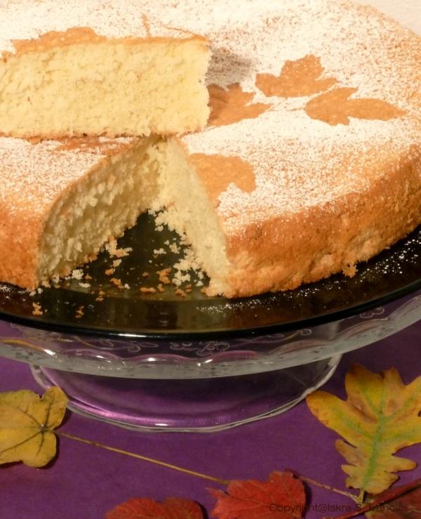 Torta soffice al limone