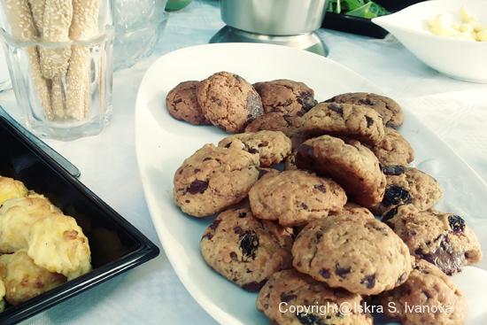 Biscotti al cioccolato fondente  (senza uova e lattosio)